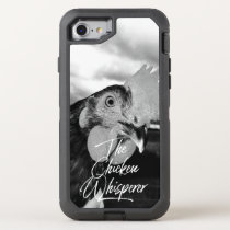 The Chicken Whisperer w Rooster Photo OtterBox Defender iPhone 8/7 Case
