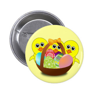 The Chicks Easter Basket - Pinback Button