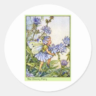The Chicory Fairy Classic Round Sticker