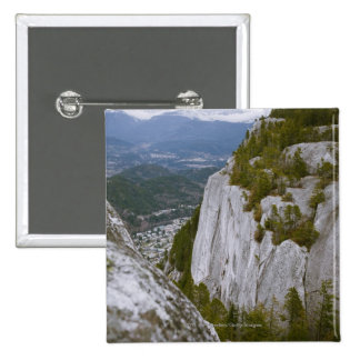 """The """"Chief"""" Arial View in Squamish Button"""