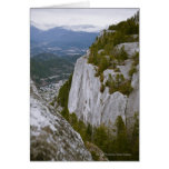 """The """"Chief"""" Arial View in Squamish Card"""