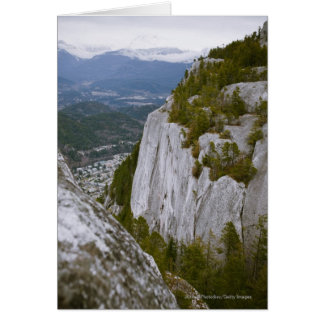 "The ""Chief"" Arial View in Squamish Card"