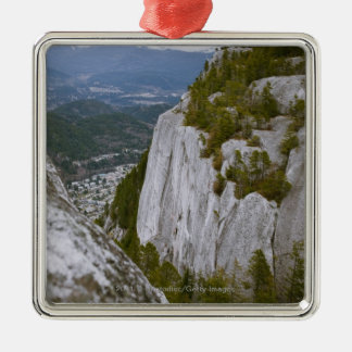"The ""Chief"" Arial View in Squamish Metal Ornament"