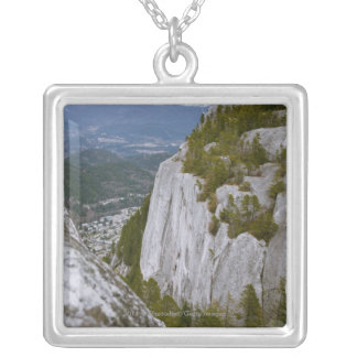 """The """"Chief"""" Arial View in Squamish Silver Plated Necklace"""