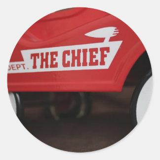 The Chief Classic Round Sticker