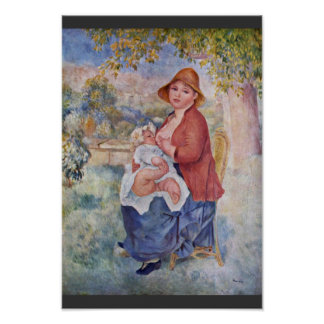 The Child At The Breast (Maternity), Poster