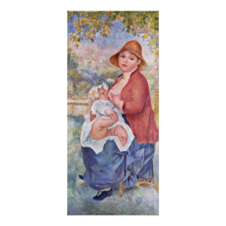 The Child At The Breast (Maternity), Rack Card