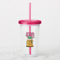 The Child | Cartoon Ink Drawing Acrylic Tumbler