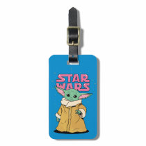 The Child | Cartoon Ink Drawing Luggage Tag