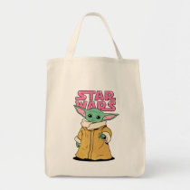 The Child | Cartoon Ink Drawing Tote Bag