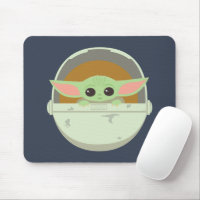 The Child Cute Bassinet Artwork Mouse Pad