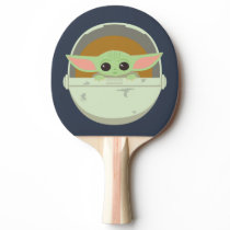 The Child Cute Bassinet Artwork Ping Pong Paddle