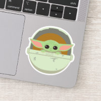 The Child Cute Bassinet Artwork Sticker