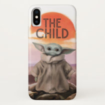 The Child Desert Background iPhone X Case