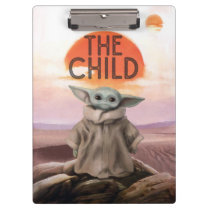 The Child Desert Background Clipboard