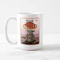 The Child Desert Background Coffee Mug