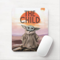 The Child Desert Background Mouse Pad