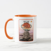 The Child Desert Background Mug