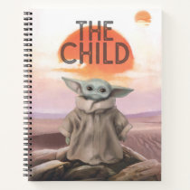 The Child Desert Background Notebook
