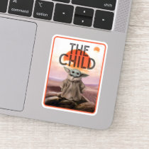 The Child Desert Background Sticker