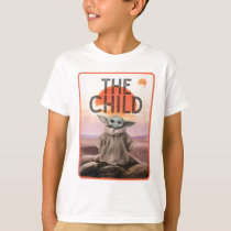 The Child Desert Background T-Shirt