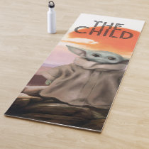 The Child Desert Background Yoga Mat