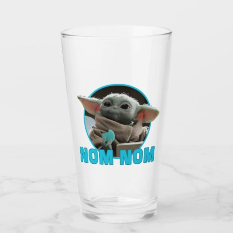 The Child Eating Cookie - Nom Nom Glass