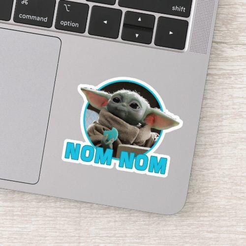 The Child Eating Cookie _ Nom Nom Sticker