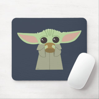 The Child | Holding Cup Mouse Pad