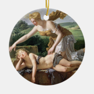 The Child of Fortune, 1801 (oil on canvas) Double-Sided Ceramic Round Christmas Ornament