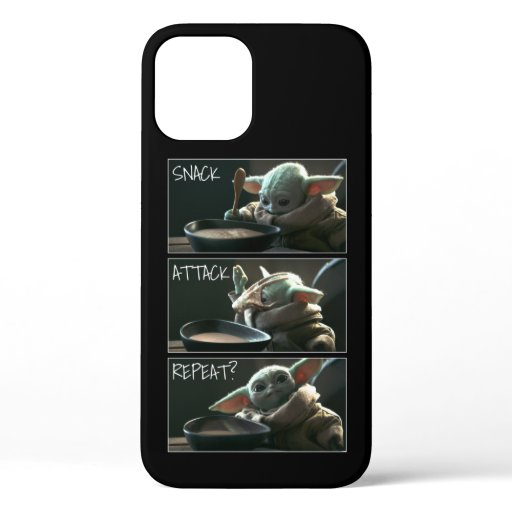 The Child | Snack, Attack, Repeat? iPhone 12 Case