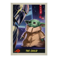 The Child | Trading Card Poster