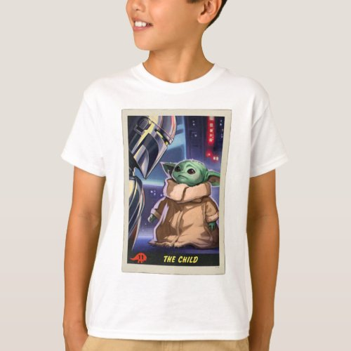 The Child  Trading Card T_Shirt