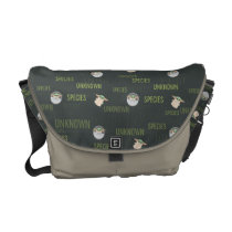 The Child | Unknown Species Green Pattern Messenger Bag