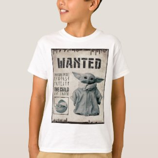 The Child | Wanted Poster T-Shirt