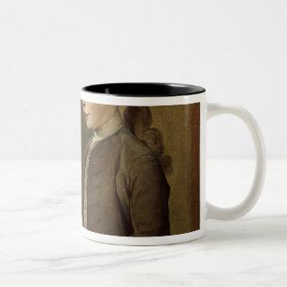 The Child with a Teetotum Two-Tone Coffee Mug