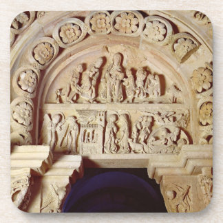 The Childhood of Christ, Tympanum of Right Portal, Beverage Coaster