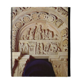 The Childhood of Christ, Tympanum of Right Portal, iPad Folio Covers