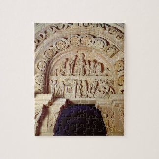 The Childhood of Christ, Tympanum of Right Portal, Jigsaw Puzzle