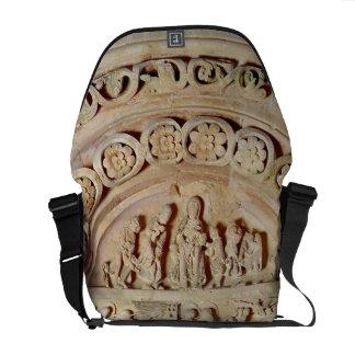 The Childhood of Christ, Tympanum of Right Portal, Messenger Bag