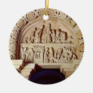 The Childhood of Christ, Tympanum of Right Portal, Christmas Ornaments