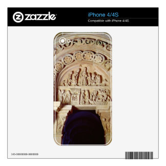 The Childhood of Christ, Tympanum of Right Portal, Decals For iPhone 4S