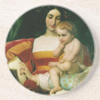 the childhood of pico della mirandola drink coasters