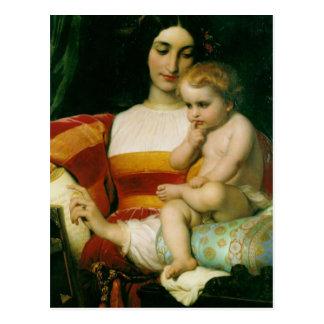the childhood of pico della mirandola postcard