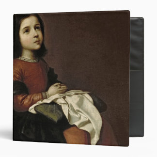 The Childhood of the Virgin, c.1660 3 Ring Binder