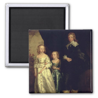 The Children of Thomas Wentworth 2 Inch Square Magnet