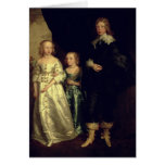 The Children of Thomas Wentworth Greeting Card