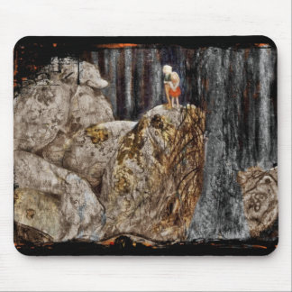 The Children with Stone Troll Mousepad