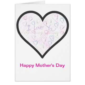 The Children's Heart Foundation Mother's Day Card