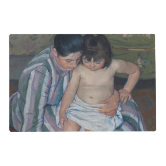 The Child's Bath by Mary Cassatt Placemat